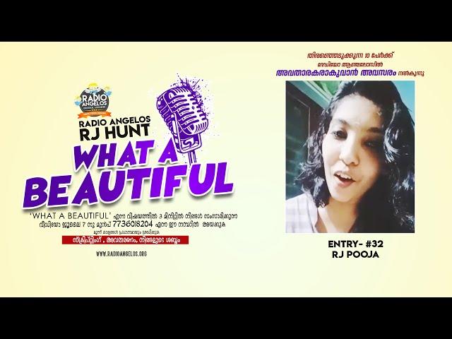 #32 RJ Pooja || WHAT A BEAUTIFUL || RJ HUNT ENTRY