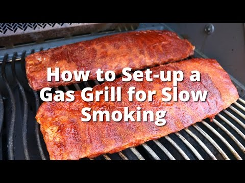 How Set Up a Gas Grill for Low and Slow Smoking | How To Smoke On A Gas Grill with Malcom Reed