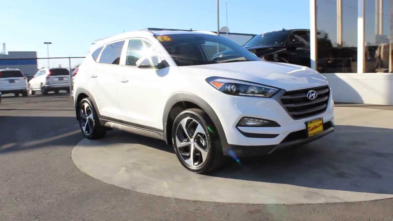 2016 Hyundai Tucson Sport | Winter White GU048383 Skagit County Mt  Vernon