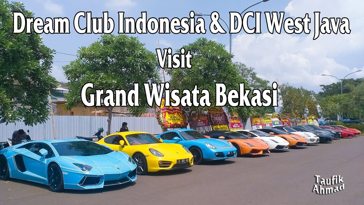 Dream Club Indonesia Dci West Java Visit Grand Wisata Bekasi