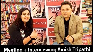 Meeting Amish Tripathi!!