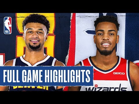NUGGETS at WIZARDS | FULL GAME HIGHLIGHTS | January 4, 2020