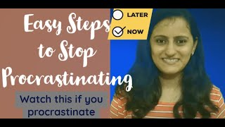 Stop proscrastination / How to start studying / Doing things