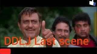 Dilwale Dulhania Le Jayenge last scene - Shah Rukh Khan best dialogue
