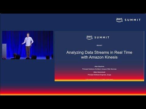 AWS Summit SF 2018: Analyzing Data Streams in Real Time with Amazon Kinesis (BDA307)