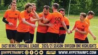 East Berkshire Football League 2020/21 Season: Division One Match Highlights (Hype Train FC)