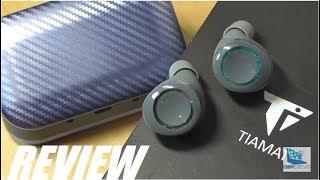 REVIEW: Tiamat Titan II TWS Wireless Earbuds w. Qi Charging!