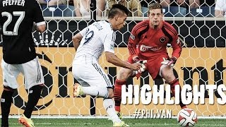 HIGHLIGHTS: Philadelphia Union vs. Vancouver Whitecaps FC | June 7, 2014