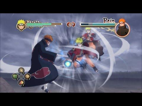 Наруто против Пейна | Naruto Shippuden: Ultimate Ninja Storm 2  Русские субтитры