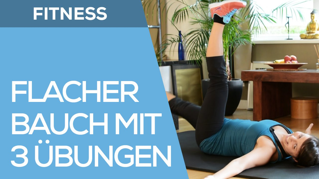flacher bauch mit diesen 3 fitness bungen f r anf nger. Black Bedroom Furniture Sets. Home Design Ideas