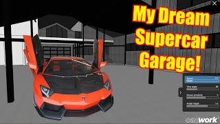 Major Update on my Dream Supercar House!  Finally.