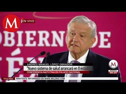 """""""Seguro Popular no ha servido"""": Andrés Manuel López Obrador"""