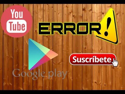 Solucion a Play Store /Error sin conexion/Error 401