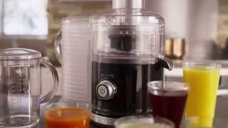 Video: KitchenAid Odstředivý odšťavňovač Artisan - 5KVJ0332EER - královská červená