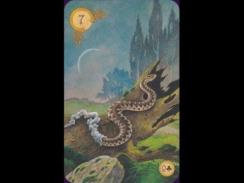 Baralho Lenormand (Baralho Cigano): a Serpente (Snapchat: ALEXCARLOS60)
