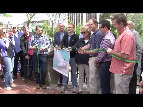 Winchester Town Day 17 - Winchester Fish Ladder Ribbon Cutting