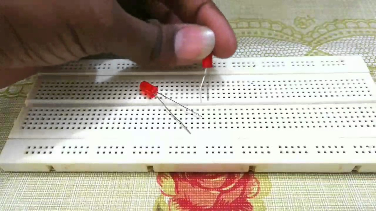 Circuits In Parallel And Series Circuit On Breadboard Youtube