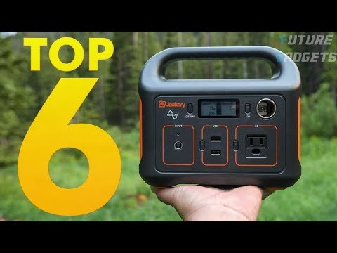 Top 6 Best Solar Portable Power Generators - Best Power Station Generator for All Outdoor Activity