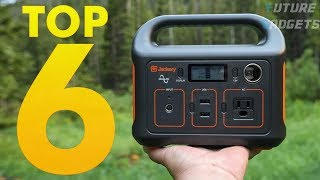 Top 6 Best Solar Portable Power Generators - Best Power Station Generator for All Outdoor Activity