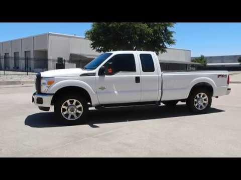 2011 Ford F250 6.7L Diesel 4x4 FX4 one owner Texas Clean 214 228 4999