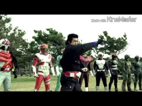 [[ MAD ]] Heisei rider vs Showa rider