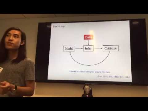Edward: Library for probabilistic modeling, inference, and criticism | Dustin Tran, Columbia Uni