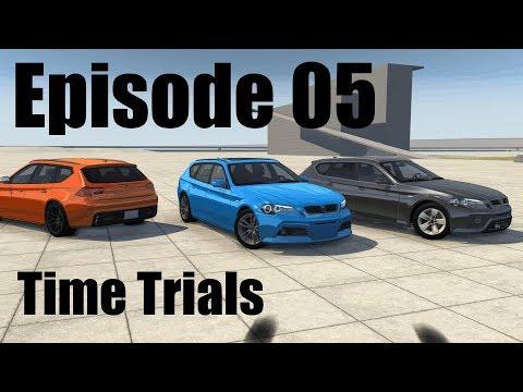 BeamNG.Drive - The Time Trials!: E.P.5 - Police Vs Sherif Vs Detective