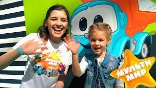 Детское видео #МУЛЬТИМИР 2017 с 👪 Дети и Родители! Развлечения #длядетей с Герои мультфильмов