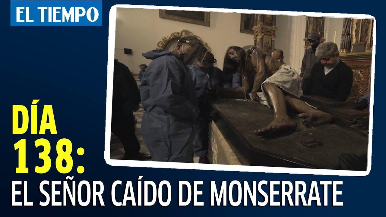 El Señor Caído de Monserrate frente al covid-19