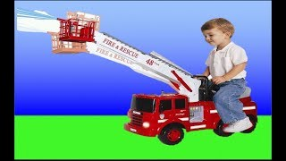 TOP 10 TOY FIRE ENGINE TRUCKS COLLECTION #unboxing thumbnail