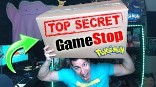 GAMESTOP SENT ME A SUPREME MYSTERY BOX WITH TOP SECRET POKEMON NEWS!