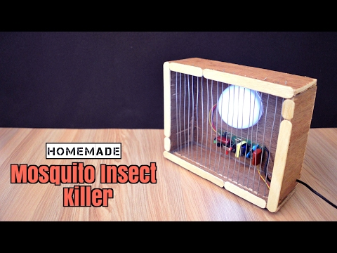 How to Make a Mosquito/Insect Trap Lamp from Scrap