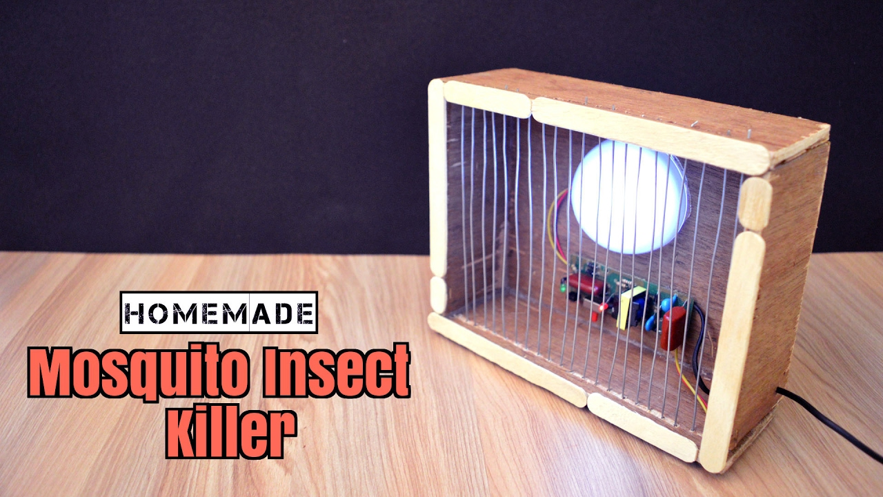 How To Make A Mosquito Insect Killer From Scrap Homemade Creative Bug Zapper Circuit Life