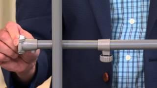 Extend-it Adjustable Closet Organization System With Alberti Popaj