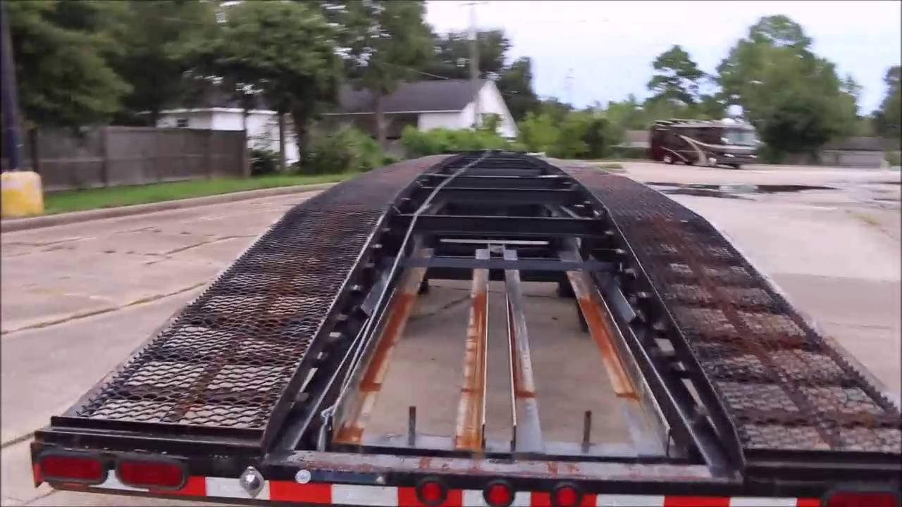 2015 Kauffman Low Profile Car Hauler For Sale Youtube
