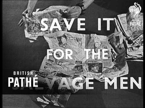 Paper Is Precious (1941-1946)