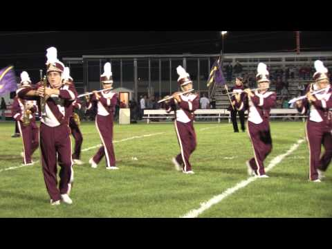 2012 Lehighton Area High School Marching Band Halftime Show.mpg