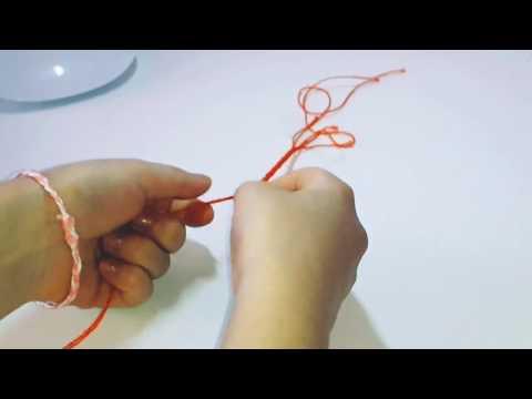 БРАСЛЕТ ИЗ НИТОК СВОИМИ РУКАМИ|DIY