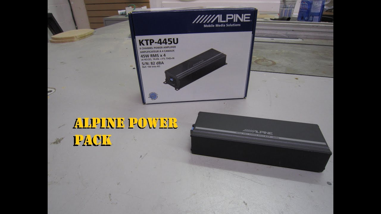 maxresdefault alpine power pack ktp 445u (mini amplifier) youtube ktp 445u wiring diagram at aneh.co