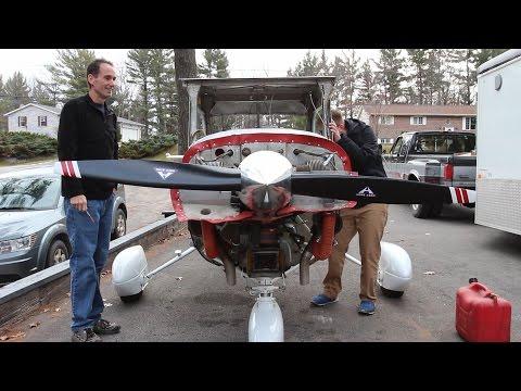 IT'S ALIVE! Cessna 150 Restoration: Update 4 -- Runup