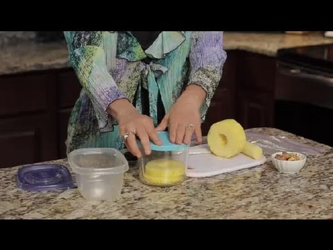 How to Store Sliced Pineapple : Pineapple Recipes