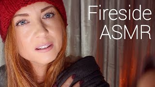 In From The Cold 🧣🔥 Fireside ASMR Pampering
