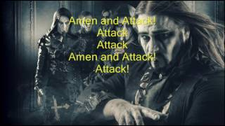 Обложка Powerwolf Amen Attack NEW LYRICS