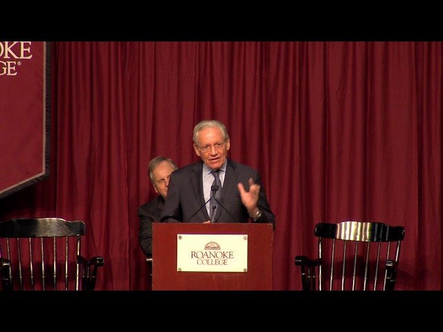 BOB WOODWARD: Journalists Need to Start Showing Up