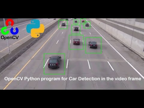 Car Detection in the video frame using OpenCV in Python