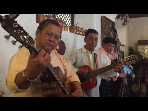 Philippines: Manila, Intramuros. Barbara's traditional food and songs