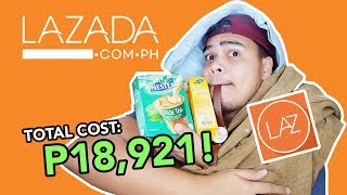 EXPECTATION VS. REALITY   Unboxing Items I bought from LAZADA