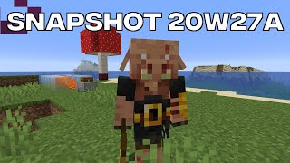 Minecraft News: 20w27a New Piglin / OP Iron Farms Fixed