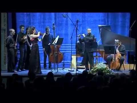 Bach Brandenburg Concerto No 5. BWV 1050 - Márta Ábrahám, János Bálint, Miklós Spányi