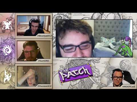 *THE PATCH* Episode 1 (SC2 talk show) with Catz, Beastyqt, Harstem, SortOf & Special